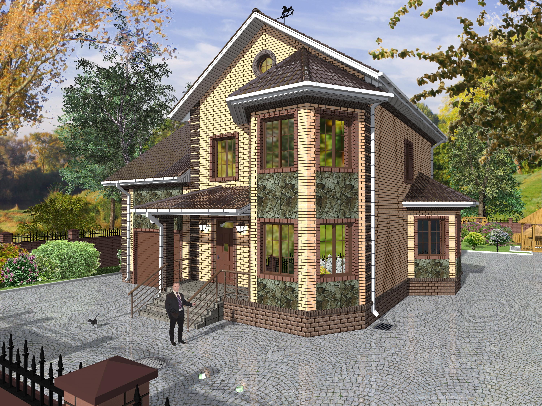 проекты двухэтажных домов и коттеджей фото кулинары